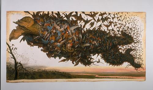 Fallen Starlings