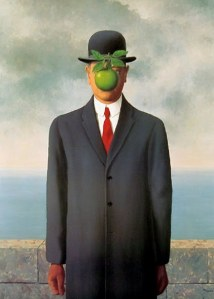 green apple man