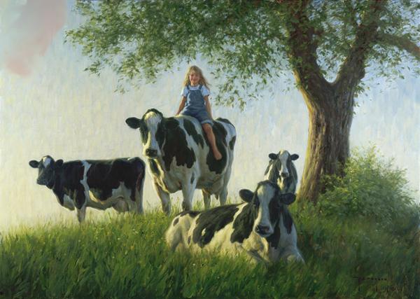 cows girl
