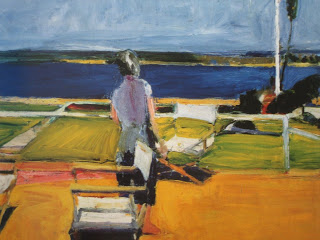 diebenkorn figure on porch