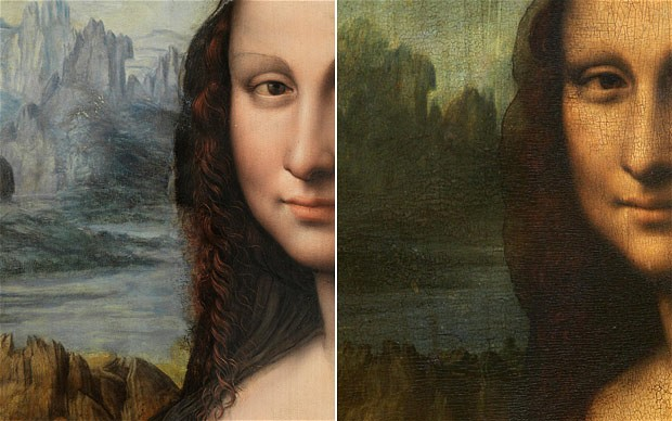 mona lisa then and now
