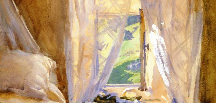 john singer sargent bedroom window
