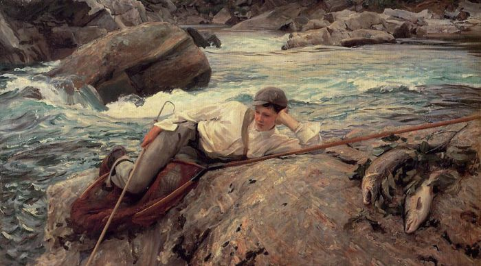 John-Singer-Sargent-Young-boy-by-river-