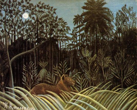 henri rousseau lion-1910