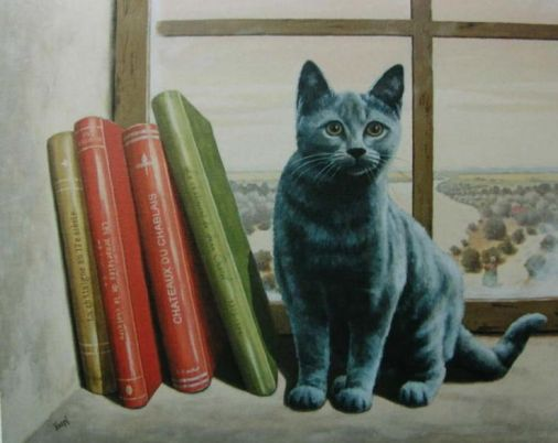 francois knopf castle cat