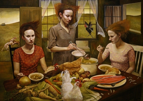 feast andrea kowch