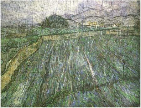 van Gogh Wheat-Field-in-Rain